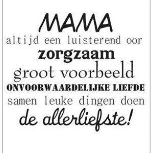 mama moederdag kaart